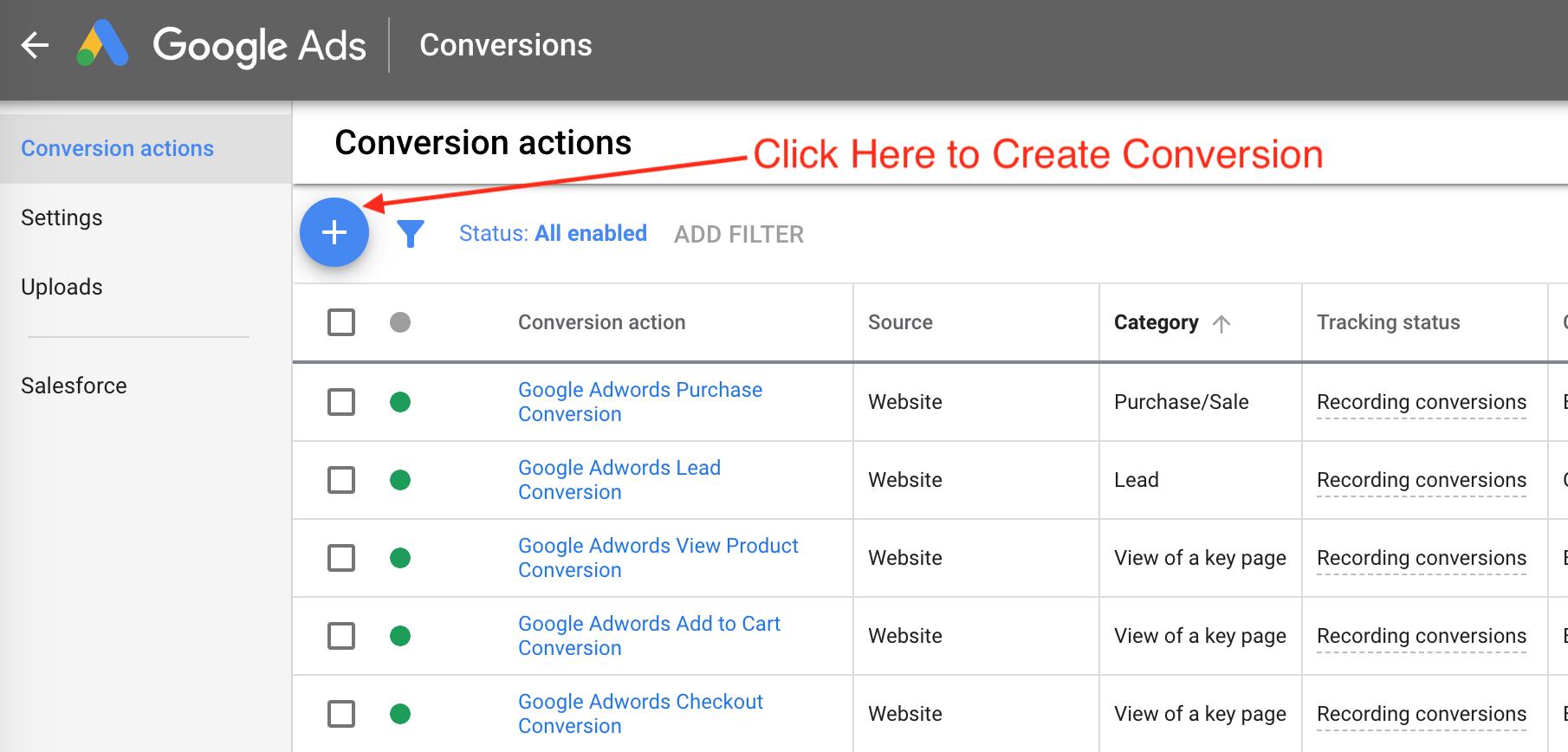 create-conversion